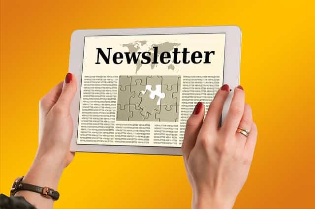 Inscription newsletter Viva Cours